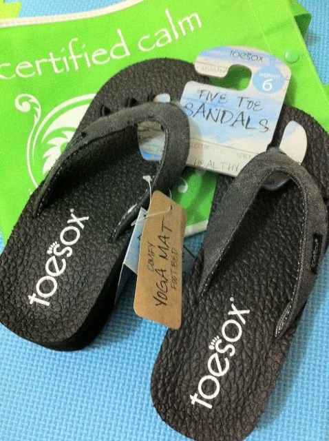 645424d4e823 Product Review  ToeSox Five Toe Sandals