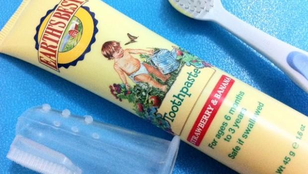Earth's Best Toddler Toothpaste