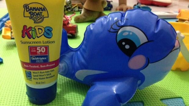 Banana Boat Kids Sunscreen Review