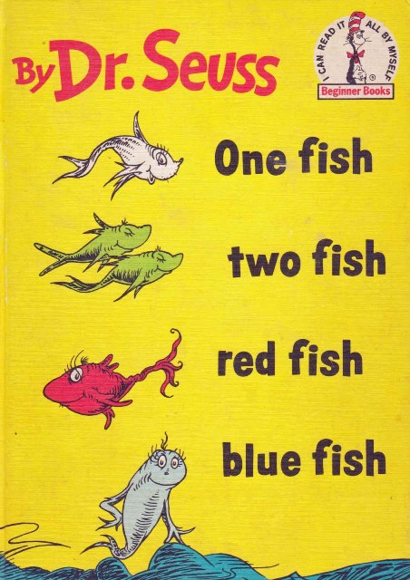 Our favorite books for early reading life of que for One fish two fish read aloud