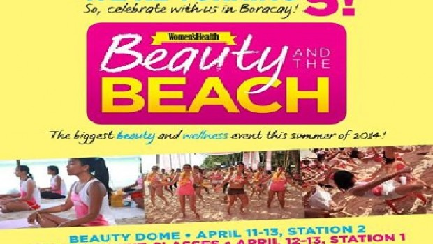 Womens Health Philippines Beauty and the Beach 2014