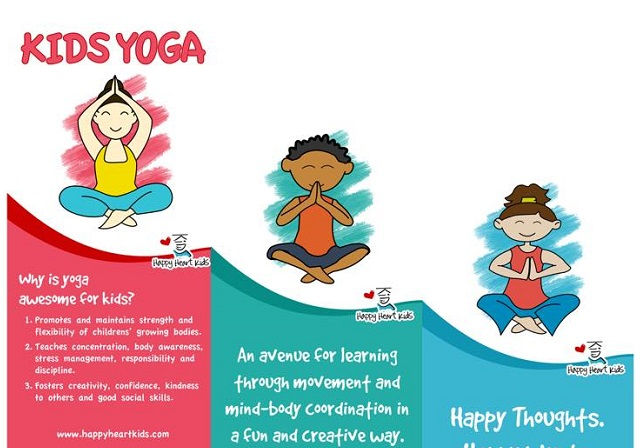 Kids Yoga At Happy Heart