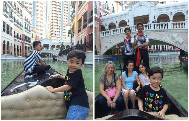 Grand Venice Canal Gondola Ride