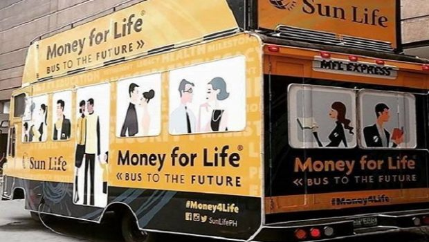 Sun Life Money For Life Campaign
