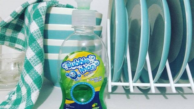 Bubble Man Dishwashing Soap Review