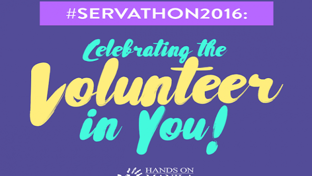 HOM Servathon 2016 Celebrating the Volunteer in You