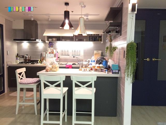 Haeundae Beach Clover House Kitchen and Dining