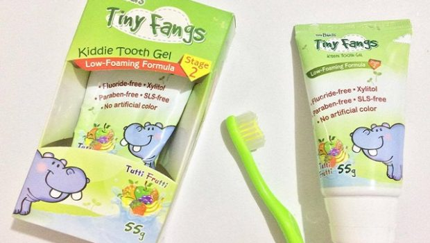 Tiny Fangs Kiddie Tooth Gel Review