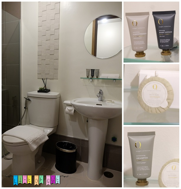Cirque Serviced Residence Toilet and Bath