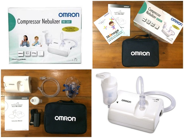 Omron CompAir Nebulizer SystemNE-C801 Review