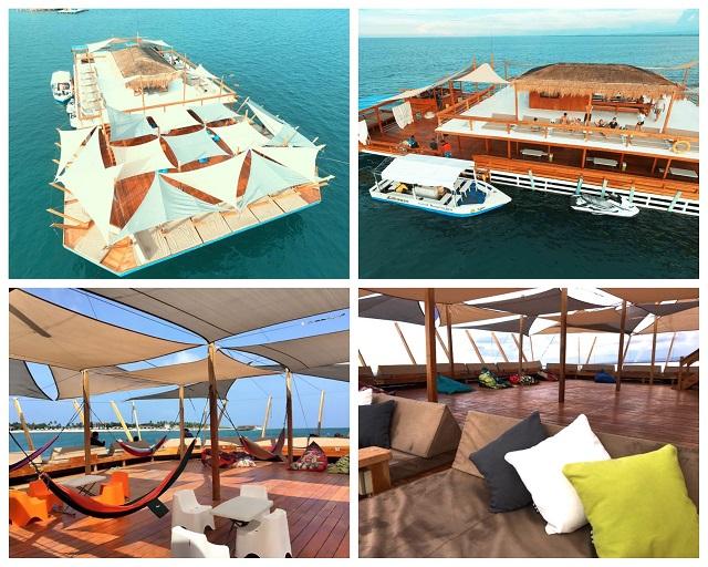 Lakawon Island Resorts and Spa Tawhai Floating Bar